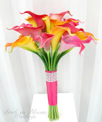 Beautiful Flower Arrangements by Beautiful U0026 Pink Color Bulbous Flower Bouquet Trendy Mods Com