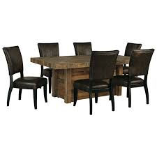 signature design by ashley sommerford 7 piece rectangular dining