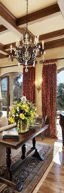 Tuscan Style Curtains World Mediterranean Italian Tuscan Homes Decor