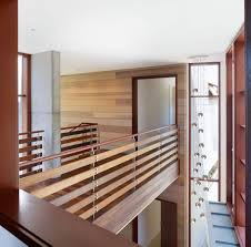 Contemporary Railings For Stairs by Indoor Bridge And Railings Design Using Wood Ideas Photo Pictures