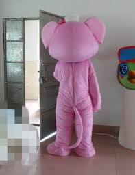 Pink Elephant Halloween Costumes Aliexpress Buy Nose Pink Elephant Mascot Costume