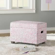blush pink storage ottoman wayfair
