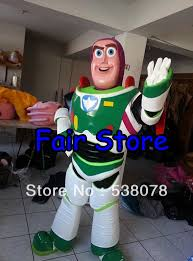 good quality toy story buzz lightyear mascot costume