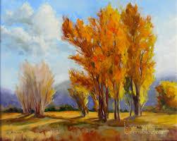 sierra cottonwoods california landscape oil painting impressionist karen winters