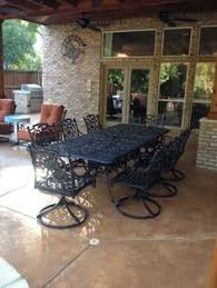 Chateau Patio Furniture Andora 7 Piece Dining Set By Hanamint Yard Likes Pinterest