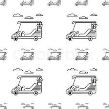 vector illustration of suv car in sketch style hand sketched off