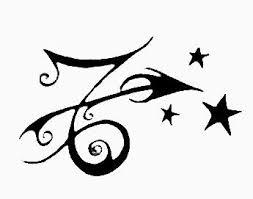 zodiac capricorn sagittarius and tiny star tattoo designs all