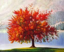 realistic tree painting 26 image