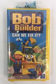 bob builder fix vhs 2001 ebay