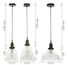 Industrial Dome Pendant Light Clear Glass Dome Pendant Light And 18116 07 Liska Industrial Style