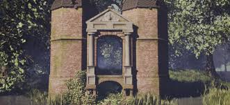 virtual reconstruction of an old castle gatehouse blendernation