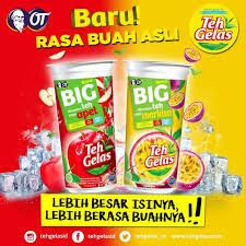 Teh Fruity teh gelas big fruit aims at fruit tea mini me insights