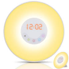 Philips Wake Up Light With Colored Sunrise Simulation 10 Alarm Clocks For Children With Sensory Challenges United
