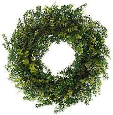 artificial boxwood wreath arbor artificial boxwood wreath 22 inches substantial for