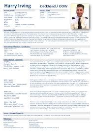 Offshore Resume Samples by Resume Sample For Deck Cadet Apprenticeship Virtren Com