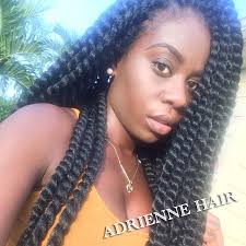 braided extensions senegalese twist hair 24inch synthetic crochet braids hair