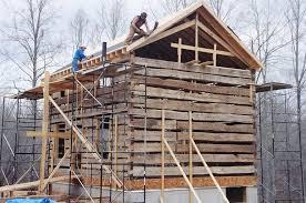 cabin foundation blocks plastic base for log deprez right view