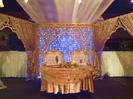 Stage Decoration Ideas Golden Color Stage Decoration Ideas For Wedding 2014 Weddings Eve