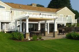 Building A Pergola On Concrete by Pergola Design Attached Freestanding Or Hybrid