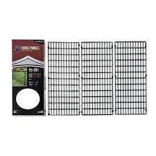 Decorative Garden Gates Home Depot Yardgard Select 4 Ft X 24 Ft Steel Fence Panel 328803a The
