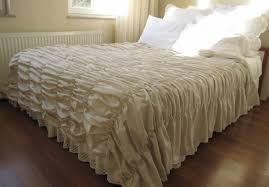 bedding set shining simply shabby chic ruffle sheet set lovely