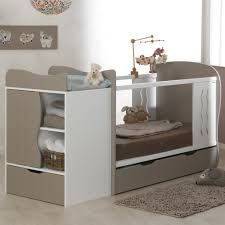 chambre bébé evolutive lit bebe evolutif avec tiroir blanc 70x140 marilinm01e