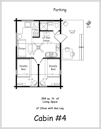 One Story Log Home Floor Plans Apartments 2 Bedroom Cabin Plans Bedroom House Plans Home Design