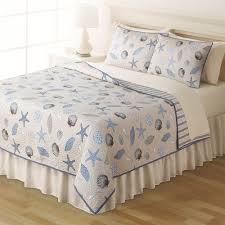 Home Classics Reversible Down Alternative Comforter Home Classics Sarah Seashells Reversible Quilt Collection