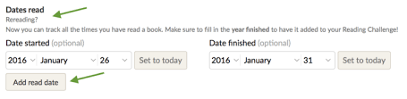 goodreads unveils rereading feature