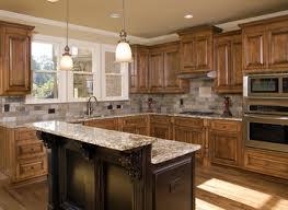 Modern Luxury Kitchen With Granite Countertop Granite Countertop Kitchen Normabudden Com
