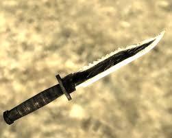 rambo 2 combat knife v1 1 at fallout3 nexus mods and community