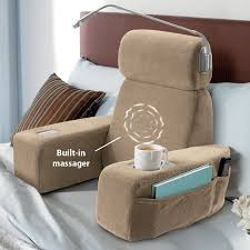 read in bed pillow massaging bed rest bed rest plush and pillows