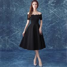 knee length bridesmaid dresses db024 black knee length bridesmaid dresses cheap