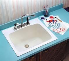 drop in laundry room sink utility sink from bid mustee model 10 durastone countertop