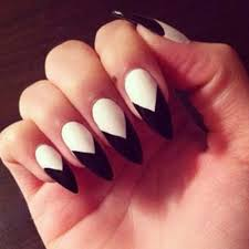 fantabulous pointed nail art trends for spring nails pinterest