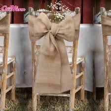burlap chair sash burlap chair sashes diy fabulous how to make 1 decorating cover