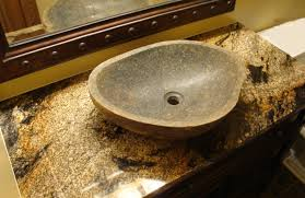 small dark granite bathroom vanity countertops for stone sink