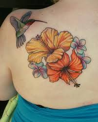 new elegant flowers tattoo designs for young girls