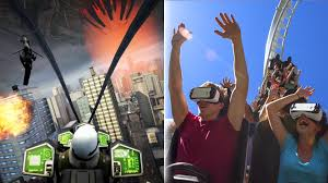 How Many Rides Does Six Flags Have Virtual Reality Roller Coasters U003d Six Flags Gimmick Or Gold