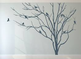 wall and window decals realistic winter tree stick on wall art wall and window decals realistic winter tree stick on wall art wall sticker decals home decor art by decalisland winter tree decal sd 051