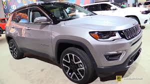 jeep compass 2017 interior 2017 jeep compass limited exterior and interior walkaround