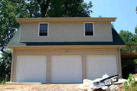 Cost Of Dormer Cost To Build Garage With Living Space Plans On First Floor