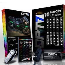 Led Light Bar For Dirt Bike by Amazon Com 10pc Aura Dirt Bike Body Glow Led Lighting Kit Multi