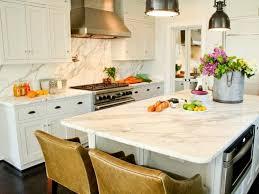 Kitchen Countertops And Backsplash Ideas Kitchen Backsplash Designs Brown Plaid Ceramic Tile Floor Double