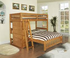 kids room classic arch slatted bunk bed water and scratch