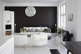 black white interior stylish home black and white interiors