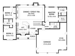 Open Floor Plans Homes 107 Best Plan The Space Images On Pinterest House Floor Plans
