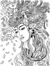 coloring pages coloring pages tattoo women elegant coloring