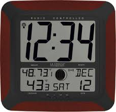 compact best digital wall clock 38 atomic digital wall clock with