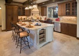 kitchen islands with seating coffered ceilings unfinished wooden